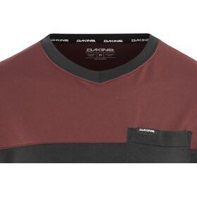 Dakine Vectra Fietsshirt korte mouwen Heren rood